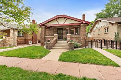 Denver Single Family Home Active: 3210 Raleigh Street