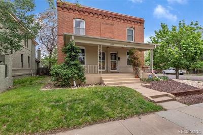 Denver Single Family Home Active: 2755 North Lafayette Street