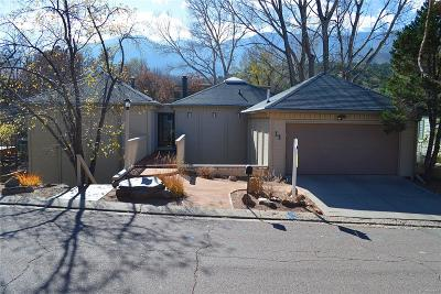 Manitou Springs Single Family Home Active: 18 Sandra Lane