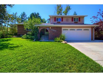 Littleton Single Family Home Active: 13802 Omega Circle