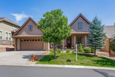 Castle Rock Single Family Home Under Contract: 1792 Wild Star Way