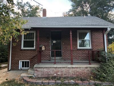 Denver Single Family Home Under Contract: 41 South Newton Street