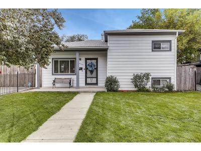 Commerce City Single Family Home Under Contract: 4240 East 70th Avenue