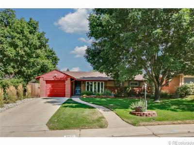 Single Family Home For Sale: 2910 South Steele Street