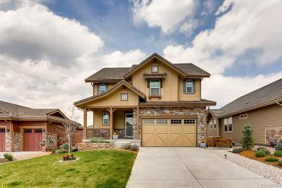 Morrison Single Family Home Sold: 15745 Red Deer Drive