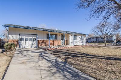Colorado Springs Single Family Home Active: 6740 Fielding Circle