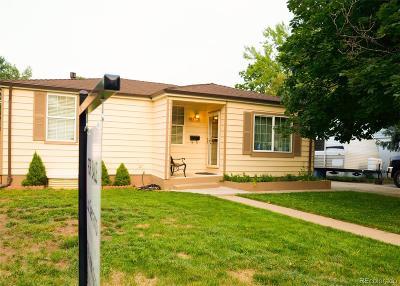 Denver Single Family Home Active: 1362 South Patton Court