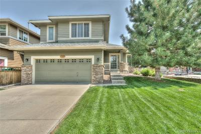 Castle Rock Single Family Home Active: 2956 Iron Springs Place