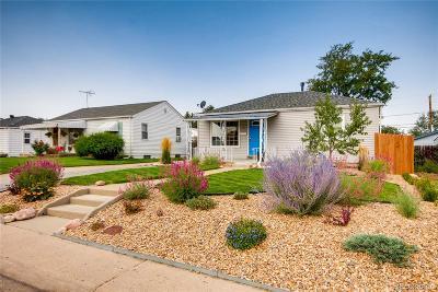 Denver CO Single Family Home Active: $399,999