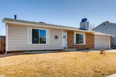 Arapahoe County Single Family Home Active: 1346 South Zeno Way