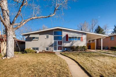 Denver Single Family Home Active: 784 South Flamingo Court