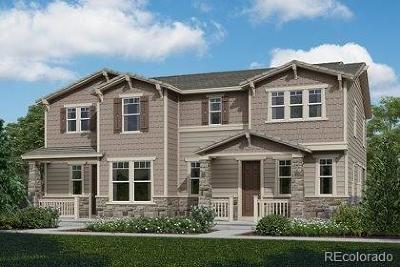 Castle Rock CO Condo/Townhouse Active: $420,000