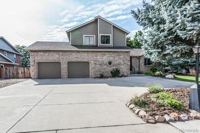 Longmont Single Family Home Under Contract: 1221 Twin Peaks Circle