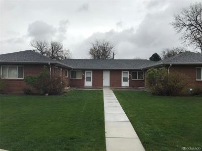 Denver Single Family Home Active: 2510 South Lafayette Street