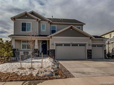 Castle Rock Single Family Home Active: 1252 Bonnyton Place