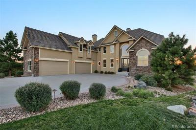 Douglas County Single Family Home Active: 9415 Wild Gulch Court