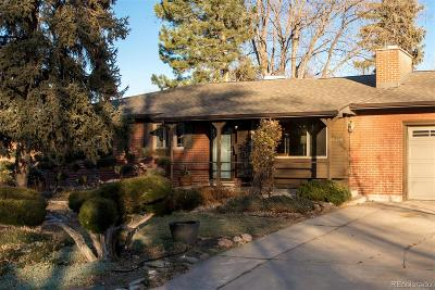 Golden Single Family Home Under Contract: 13436 West 22nd Place