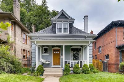 Denver Single Family Home Under Contract: 612 Clarkson Street