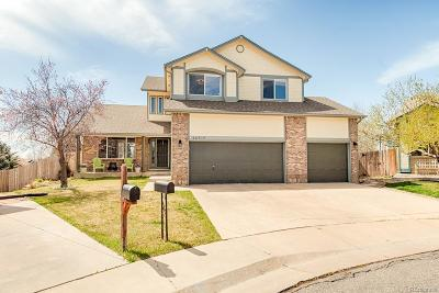 Broomfield Single Family Home Under Contract: 12510 Vrain Street