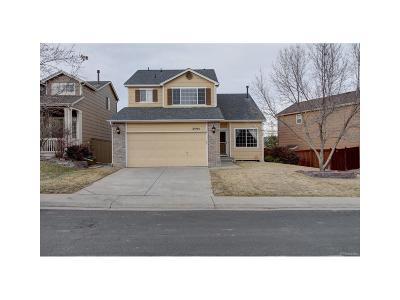 Castle Rock Single Family Home Under Contract: 3595 Primrose Lane