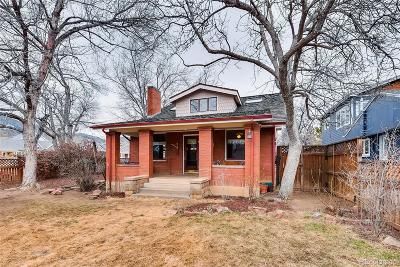 Boulder Single Family Home Under Contract: 1305 Cedar Avenue