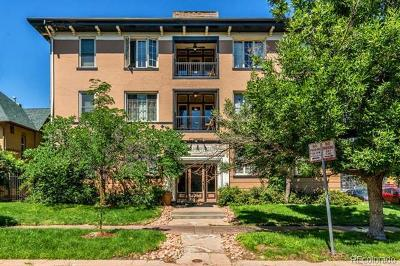 Denver Condo/Townhouse Active: 1167 North Logan Street #7