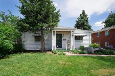 Castle Rock, Conifer, Cherry Hills Village, Greenwood Village, Englewood, Lakewood, Denver Single Family Home Active: 3420 South Downing Street