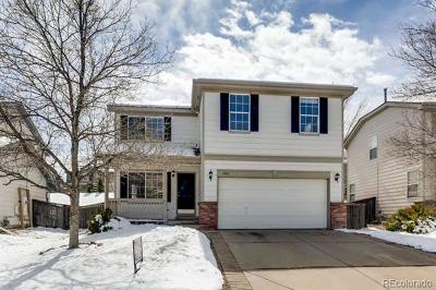 Littleton Single Family Home Active: 5633 Cheetah Chase