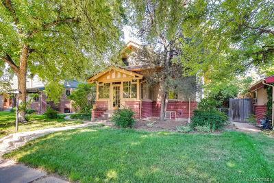 Denver Single Family Home Active: 2316 Hudson Street