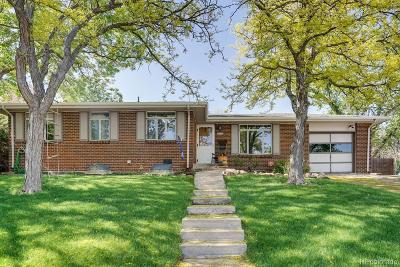 Lakewood Single Family Home Active: 6950 West Archer Place