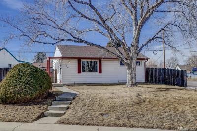 Denver Single Family Home Under Contract: 2601 South Hazel Court