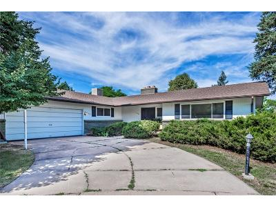 Denver Single Family Home Under Contract: 8464 East Radcliff Avenue