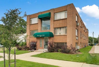 Denver Condo/Townhouse Active: 2259 South Josephine Street #103