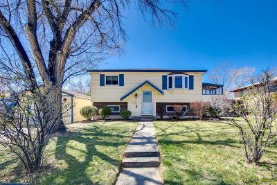 Northglenn Single Family Home Under Contract: 9661 Fox Street