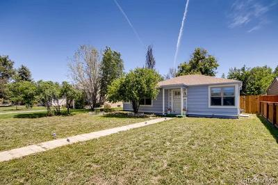 Denver Single Family Home Active: 1740 Trenton Street