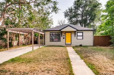 Denver Single Family Home Active: 1940 West 47th Avenue