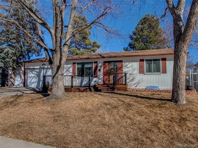 Arvada Single Family Home Active: 7260 Union Court