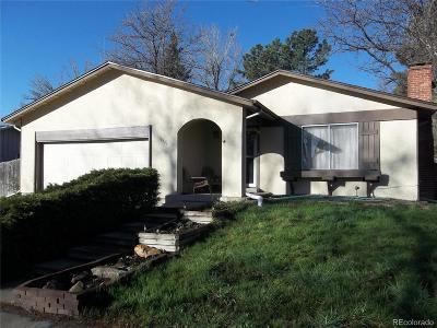 Aurora CO Single Family Home Active: $334,900