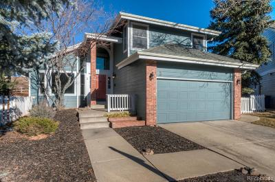 Littleton Single Family Home Under Contract: 3 Manzanita