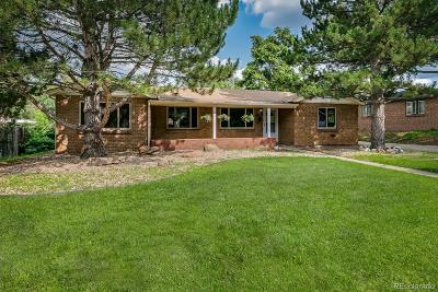 Wheat Ridge Single Family Home Under Contract: 4350 Lamar Street