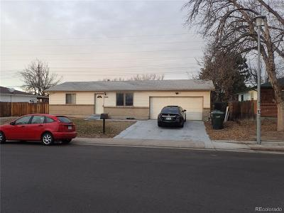 Denver Single Family Home Under Contract: 13841 Randolph Place