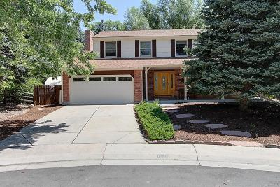 Littleton Single Family Home Active: 7326 South Miller Court