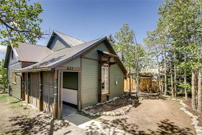 Leadville Single Family Home Under Contract: 611 West 2nd Street