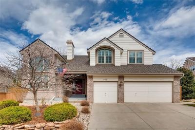 Highlands Ranch Single Family Home Under Contract: 8918 Green Meadows Lane