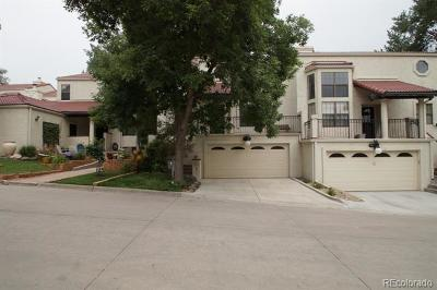 Denver Condo/Townhouse Active: 1600 South Quebec Way #9