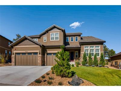Castle Rock Single Family Home Active: 1575 Knotty Pine Way