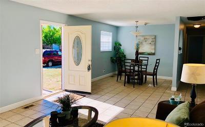 Denver Single Family Home Under Contract: 5519 Racine Street