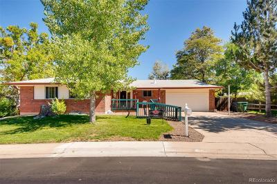 Northglenn Single Family Home Active: 10650 Utrillo Lane