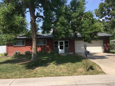 Wheat Ridge Single Family Home Under Contract: 3145 Wright Street