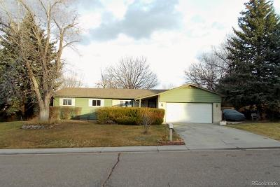 Northglenn Single Family Home Under Contract: 11046 Livingston Drive